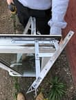 Replacement of window hinges Erith AFTER