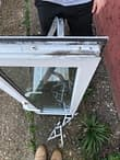 Replacement of window hinges before Erith